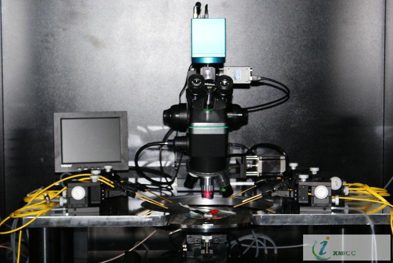 集成电路 灰尘 显微镜